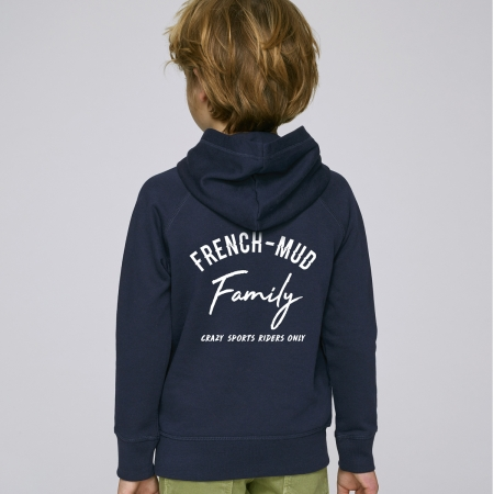 Hoodie Enfant French-Mud Family