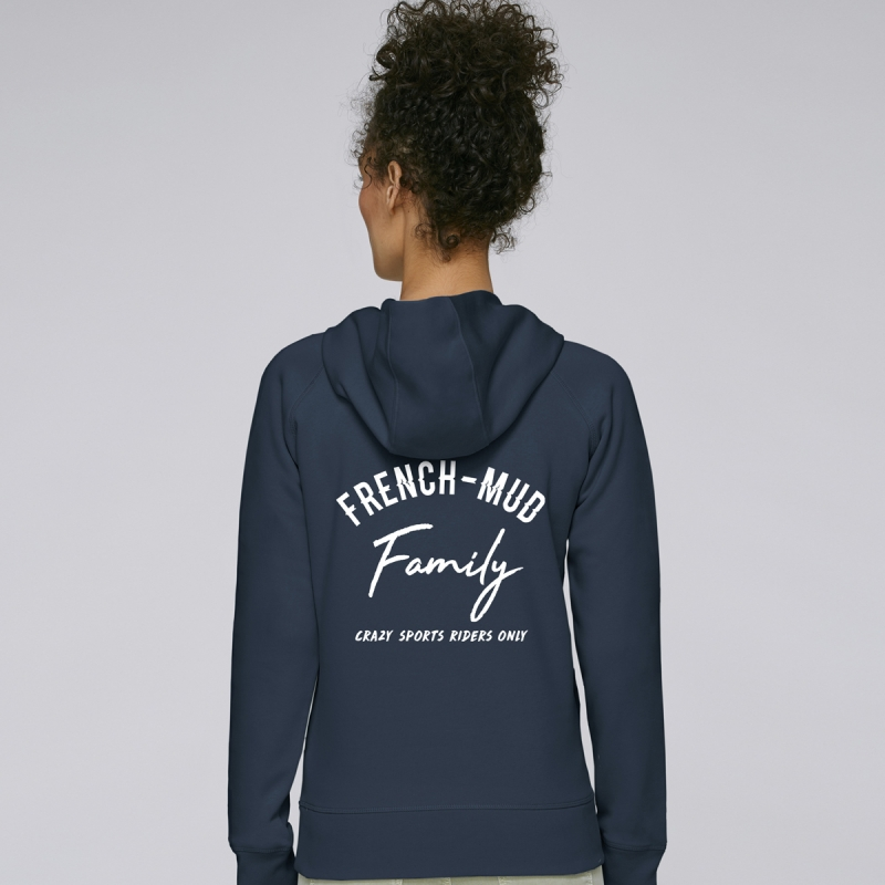 Hoodie Femme French-Mud Family