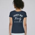 TShirt Femme French-Mud Family