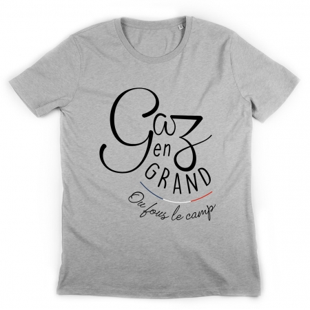 Tshirt Gaz en Grand