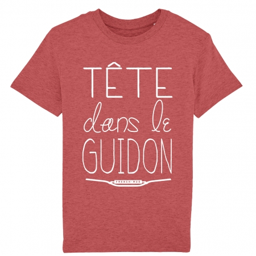 Tshirt Enfant Tête dans le Guidon