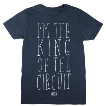 Tshirt King of the Circuit Enfant
