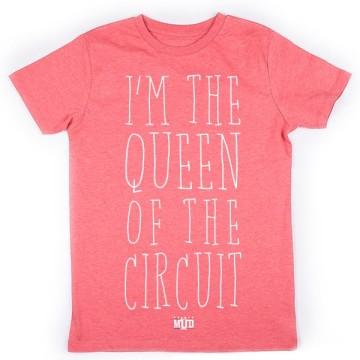 Tshirt Queen of the Circuit Enfant