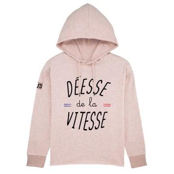 Hoodie Court Deesse de la Vitesse