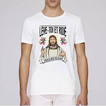 Tshirt Leve Toi et Ride