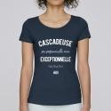 T-Shirt Femme Cascadeuse Exceptionnelle