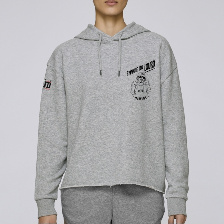 Hoodie Court Cascadeuse Exceptionnelle