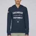 Hoodie Femme Cascadeuse Execeptionnelle