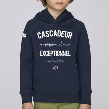Hoodie Enfant Cascadeur Exceptionnel
