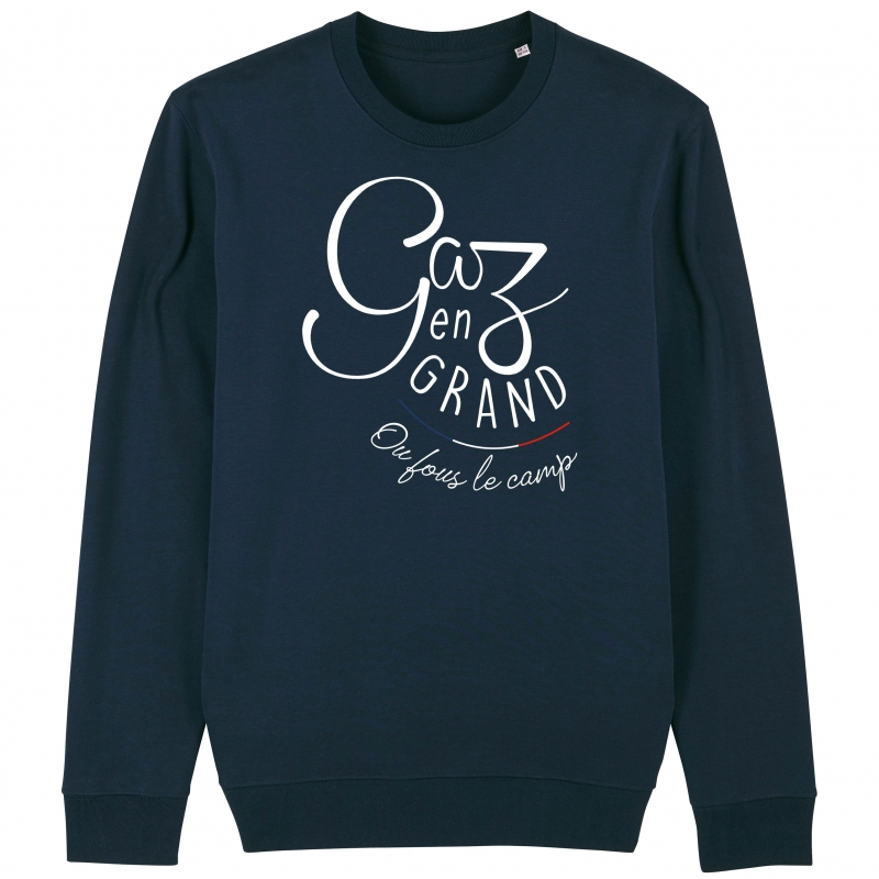 SWEAT Unisexe GAZ EN GRAND