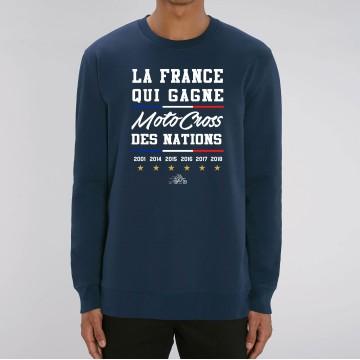 SWEAT Unisexe LA FRANCE QUI GAGNE MXDN