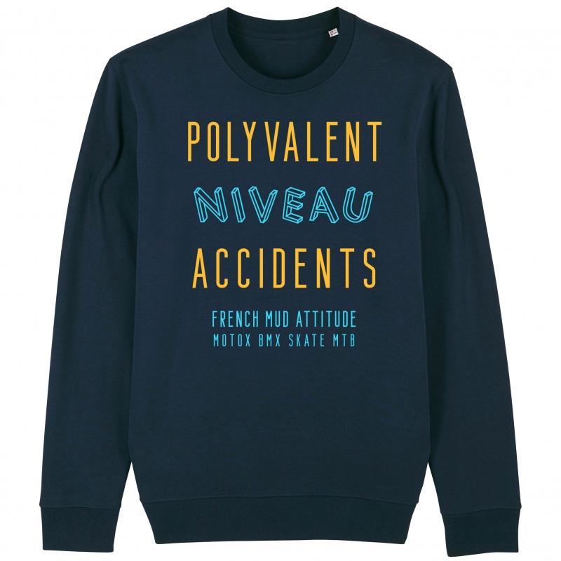 SWEAT Unisexe POLYVALENT NIVEAU ACCIDENT