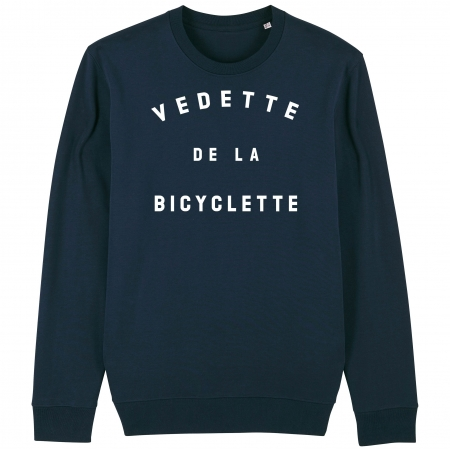 SWEAT Unisexe VEDETTE DE LA BICYCLETTE