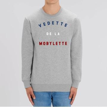 """SWEAT """"VEDETTE DE LA MOBYLETTE"""" Homme"""
