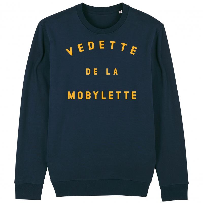 SWEAT Unisexe VEDETTE DE LA MOBYLETTE