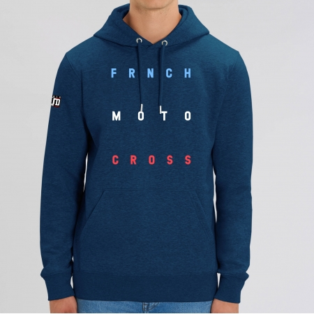 HOODIE Unisexe FRNCH MOTOCROSS