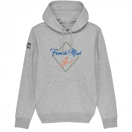 HOODIE Unisexe FRENCH MUD GIRL