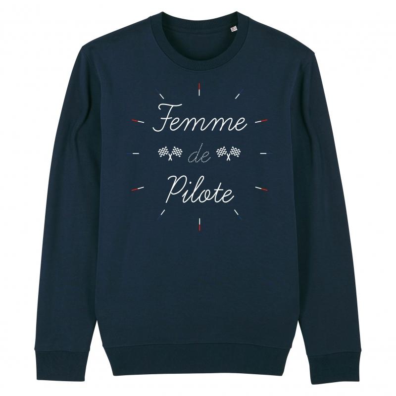 SWEAT Unisexe FEMME DE PILOTE