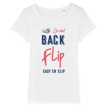TSHIRT Femme BACKFLIP EN SLIP