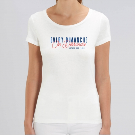 TSHIRT EVERY DIMANCHE Femme