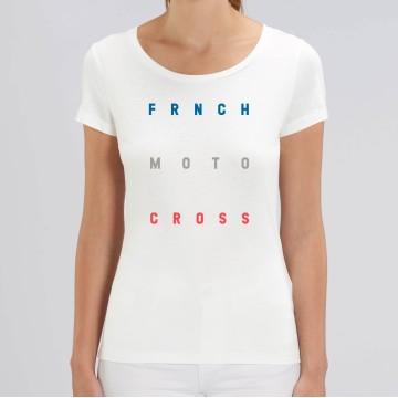 TSHIRT Femme FRNCH MOTOCROSS