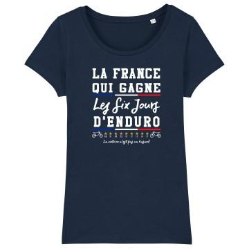 TSHIRT Femme LA FRANCE QUI GAGNE ISDE