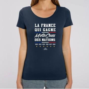 TSHIRT Femme LA FRANCE QUI GAGNE MXDN