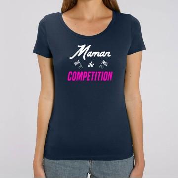 TSHIRT Femme MAMAN DE COMPETITION