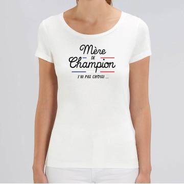 TSHIRT Femme MERE DE CHAMPION