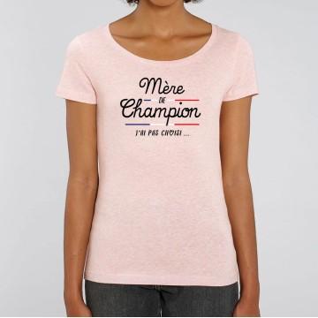 """TSHIRT """"MERE DE CHAMPION"""" Femme"""