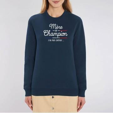 SWEAT Femme MERE DE CHAMPION