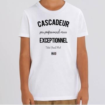 TSHIRT Enfant CASCADEUR EXCEPTIONNEL