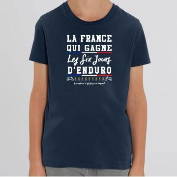 TSHIRT Enfant LA FRANCE QUI GAGNE ISDE