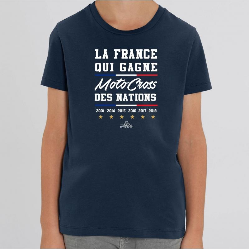 TSHIRT Enfant LA FRANCE QUI GAGNE MXDN