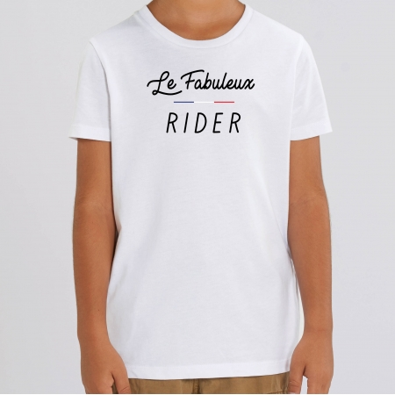 "TSHIRT ""LE FABULEUX RIDER"" Enfant"