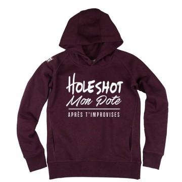 Hoodie Holeshot Femme