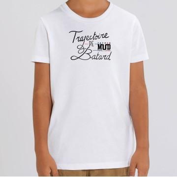 "TSHIRT ""TRAJECTOIRE DE BATARD"" Enfant"