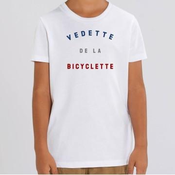 TSHIRT Enfant VEDETTE DE LA BICYCLETTE
