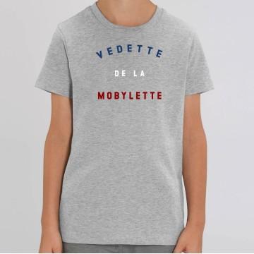 """TSHIRT """"VEDETTE DE LA MOBYLETTE"""" Enfant"""