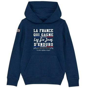 HOODIE Enfant LA FRANCE QUI GAGNE ISDE