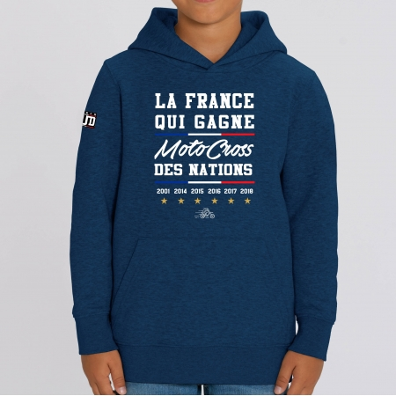 HOODIE Enfant LA FRANCE QUI GAGNE MXDN