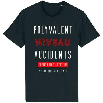 "TSHIRT ""POLYVALENT NIVEAU ACCIDENTS"" Homme"
