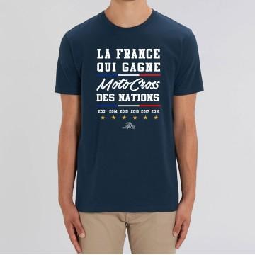 """TSHIRT """"LA FRANCE QUI GAGNE MXDN"""" Homme"""