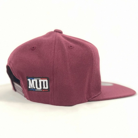 Casquette enfant French-Mud pro model bordeaux