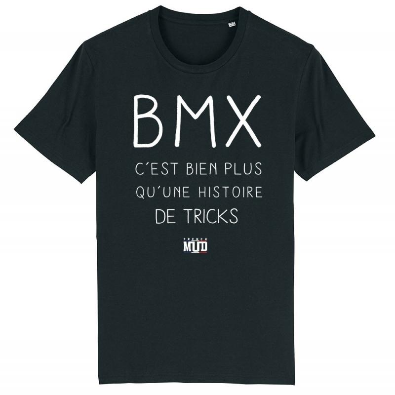 TSHIRT Unisexe BMX BIEN PLUS QUE DES TRICKS