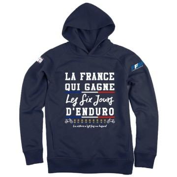 Hoodie La France ISDE Femme
